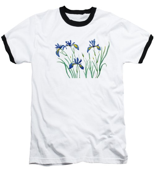 Iris In Japanese Style Baseball T-Shirt