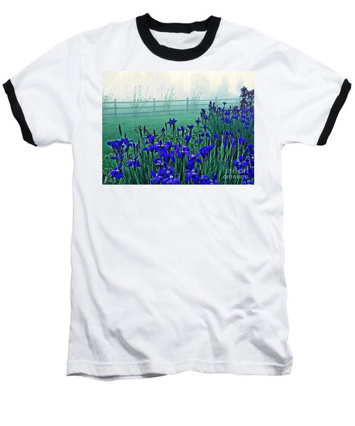 Irises At Dawn 3 Baseball T-Shirt