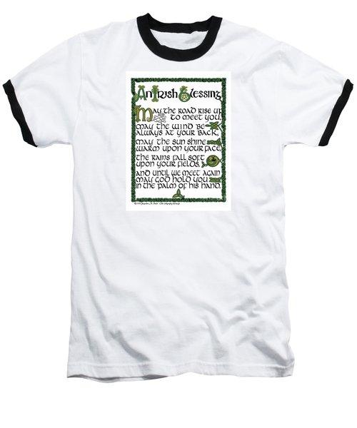 Irish Blessing Baseball T-Shirt