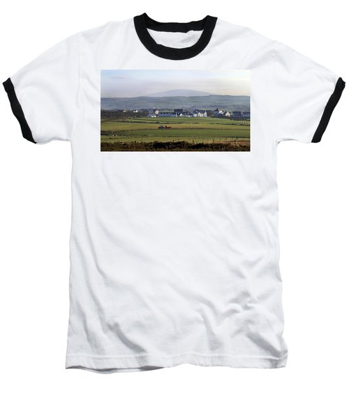 Irish Sheep Farm II Baseball T-Shirt by Henri Irizarri