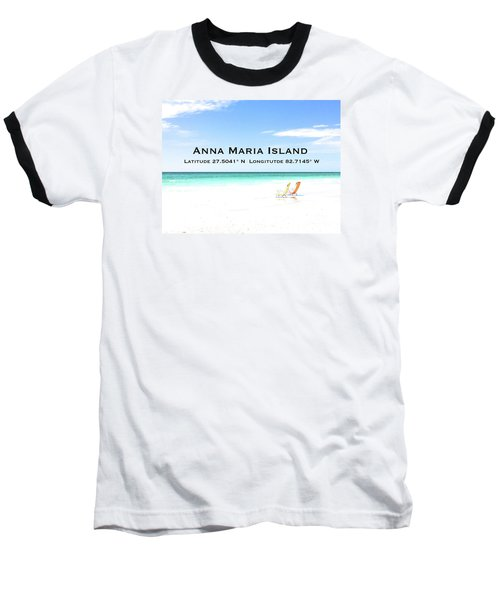Island Breezes Baseball T-Shirt by Margie Amberge