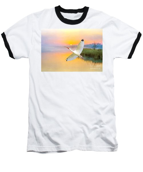 Island Ibis Baseball T-Shirt