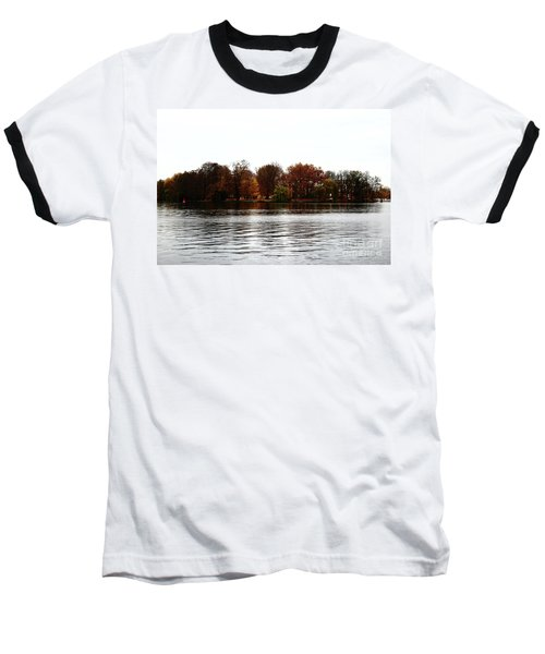 Island Of Trees Baseball T-Shirt by Ana Mireles