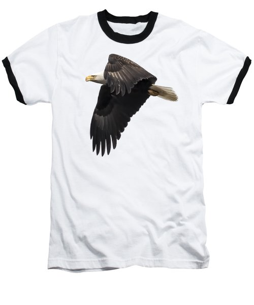 Isolated American Bald Eagle 2016-6 Baseball T-Shirt