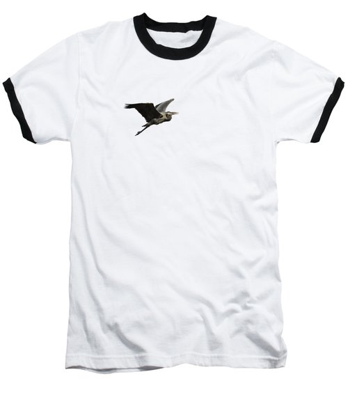 Isolated Great Blue Heron 2015-3 Baseball T-Shirt