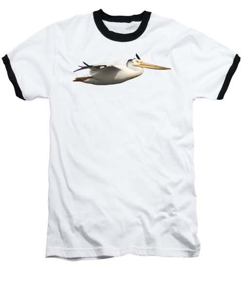 Isolated Pelican 2016-1 Baseball T-Shirt