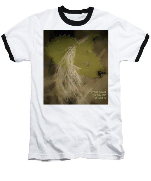 It Is What It Is Baseball T-Shirt