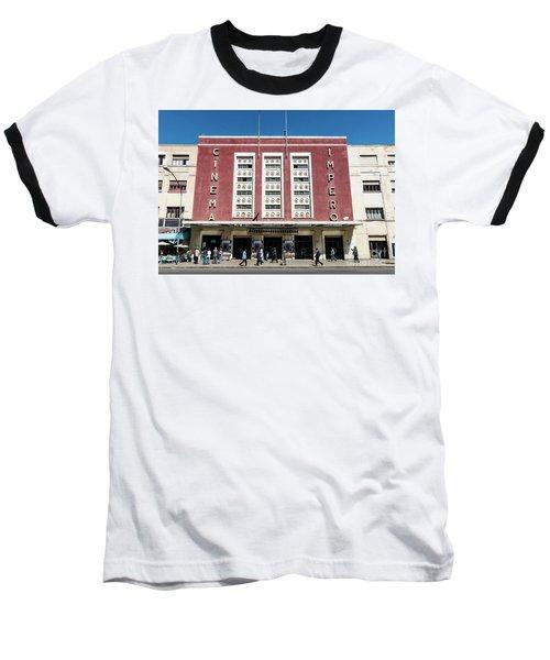 Italian Colonial Art Deco Old Cinema Building In Asmara Eritrea Baseball T-Shirt
