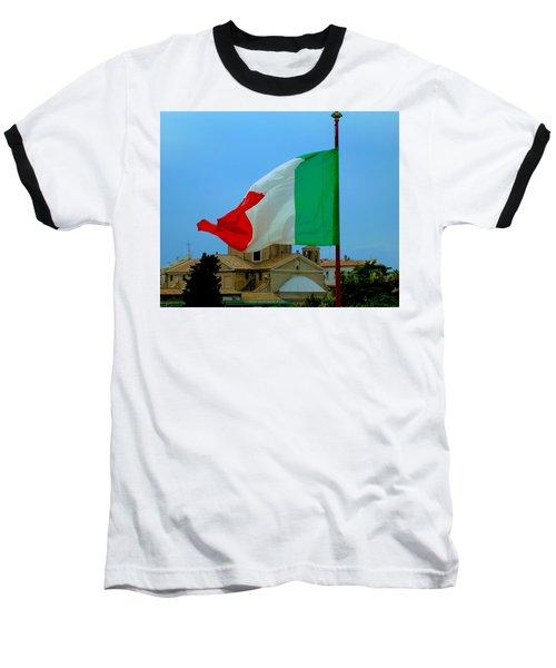 Italian Colors Baseball T-Shirt