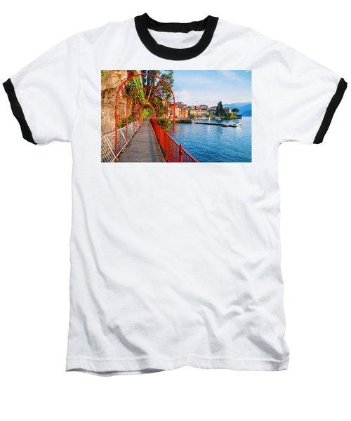 Italian Walk Of Love  Baseball T-Shirt