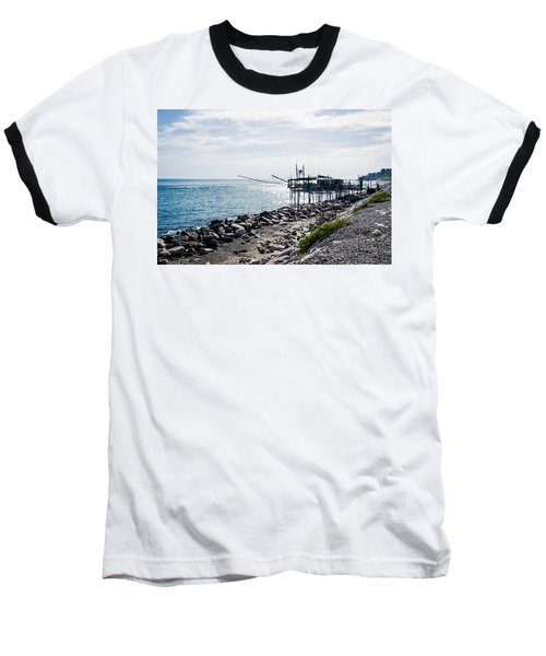 Italy - The Trabocchi Coast 2  Baseball T-Shirt