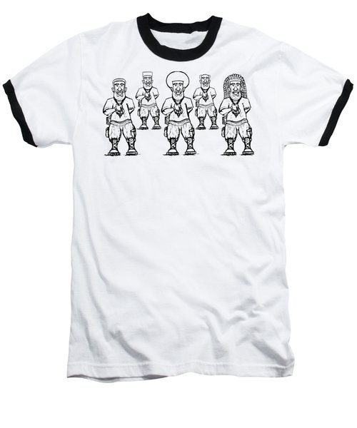Iuic Soldier 1 W/outline Baseball T-Shirt