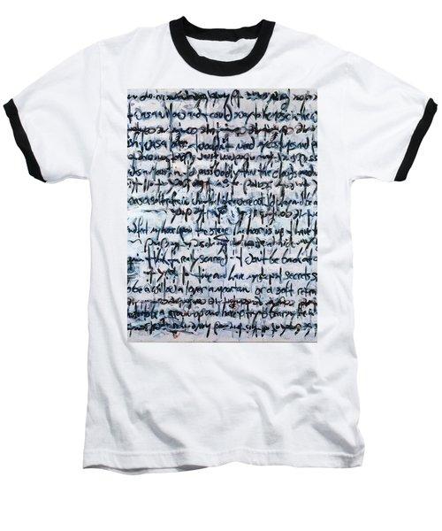 Ivory Tower Blues Baseball T-Shirt