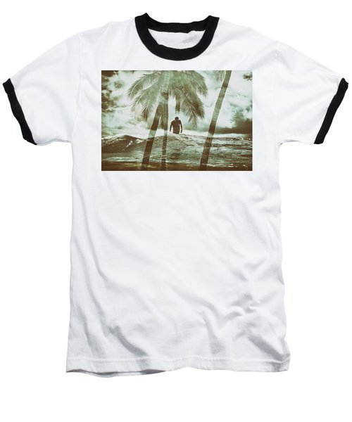 Izzy Jive And Palms Baseball T-Shirt