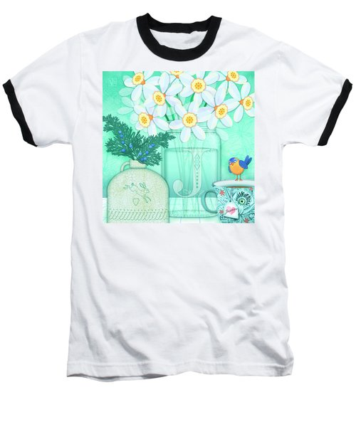 J Is For Jar Of Jonquils Baseball T-Shirt
