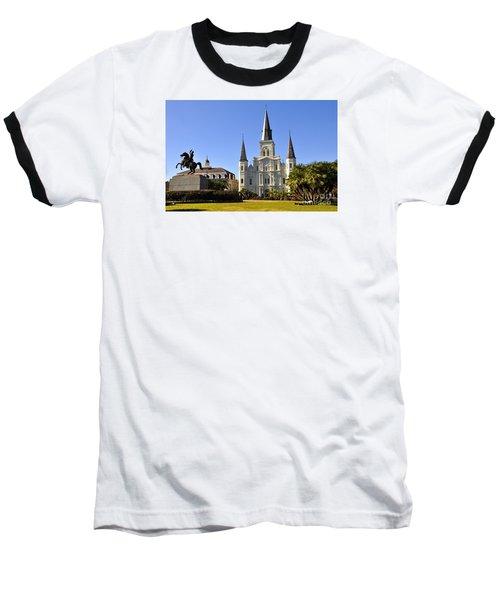 Jackson Square Baseball T-Shirt