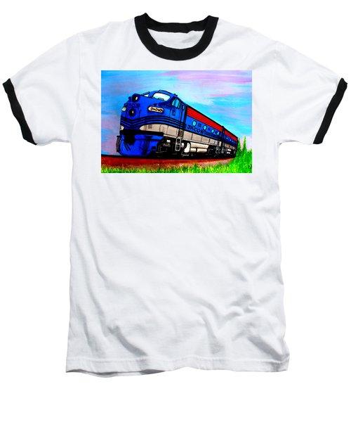 Jacob The Train Baseball T-Shirt