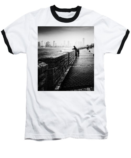 Jaffa Port Baseball T-Shirt