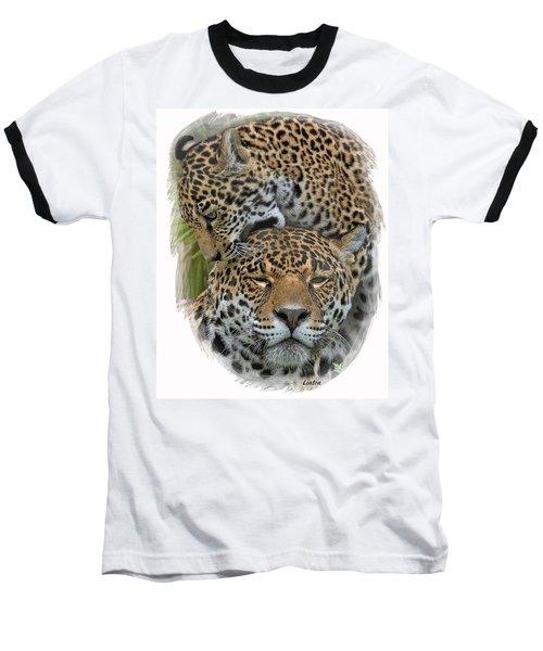 Jaguar Affection Baseball T-Shirt