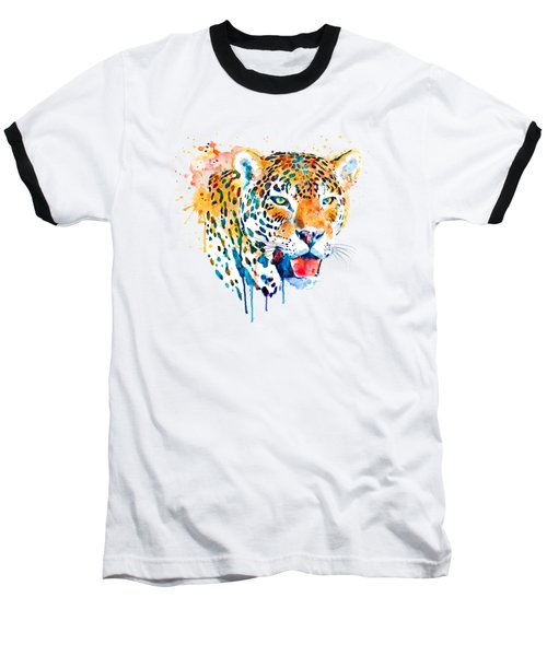 Jaguar Head Baseball T-Shirt