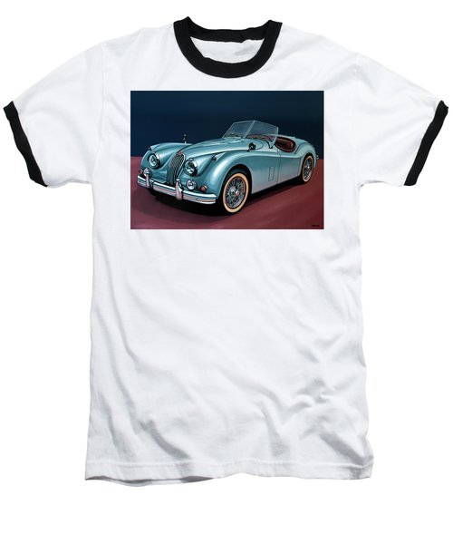 Jaguar Xk140 1954 Painting Baseball T-Shirt