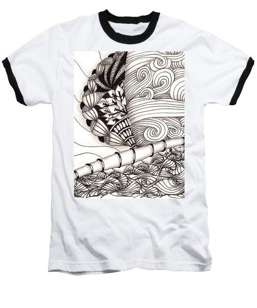 Jamaican Dreams Baseball T-Shirt by Jan Steinle