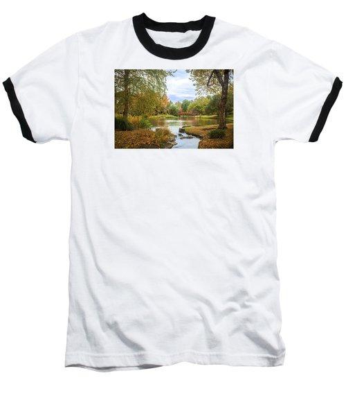 Japanese Garden View Baseball T-Shirt