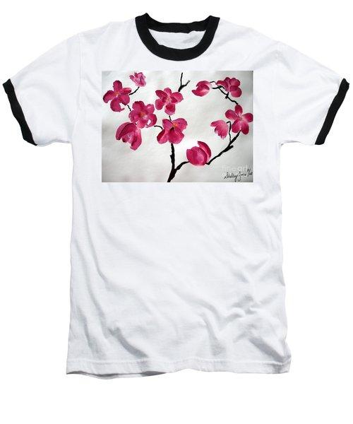 Japanese Tree Baseball T-Shirt