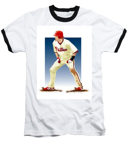 Jayson Werth Baseball T-Shirt by Scott Weigner