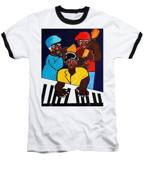 Jazz Sunshine Band Baseball T-Shirt
