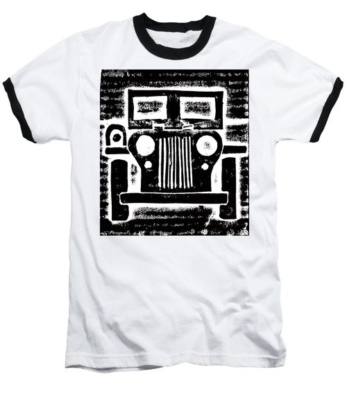 Jeep Baseball T-Shirt by Jame Hayes