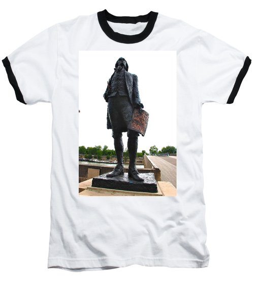 Jefferson In Paris Baseball T-Shirt