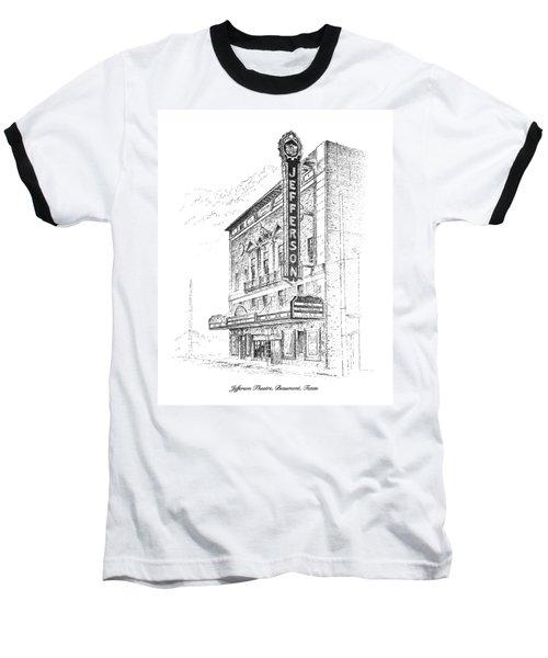 Jefferson Theatre Baseball T-Shirt