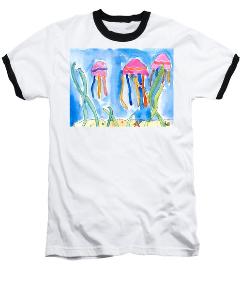 Jellyfish Baseball T-Shirt