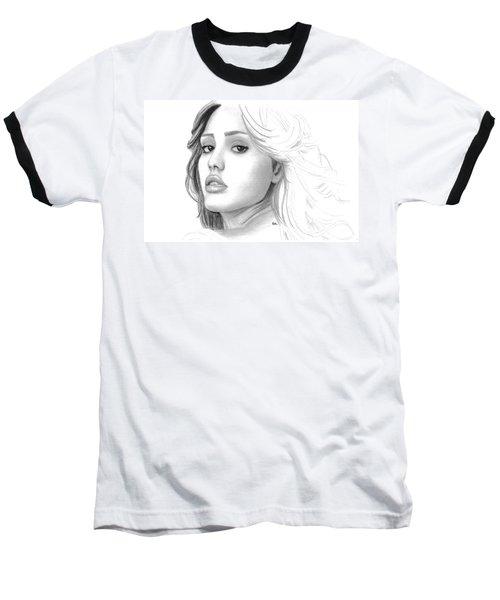 Jessica Alba Baseball T-Shirt