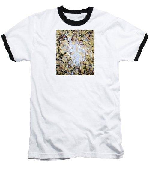 Jesus In Disguise Baseball T-Shirt by Kume Bryant
