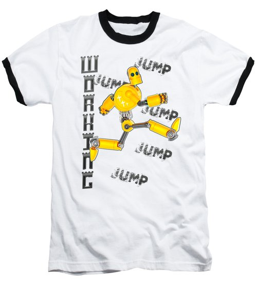 Jesus The Wave Baseball T-Shirt