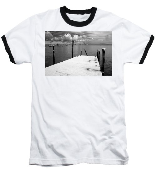 Jetty, Rhos-on-sea Baseball T-Shirt