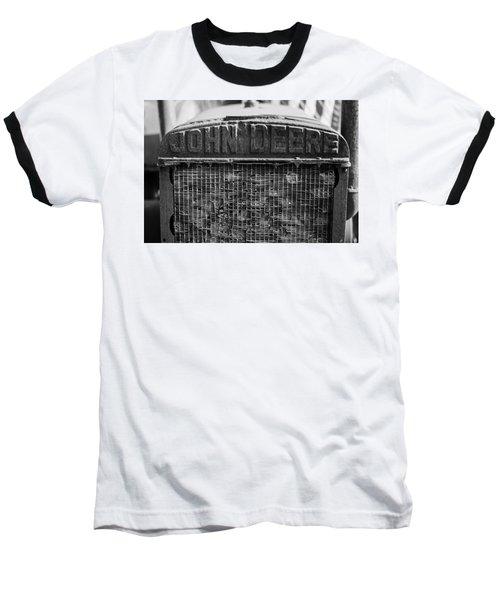 John Deere In Monochrome Baseball T-Shirt
