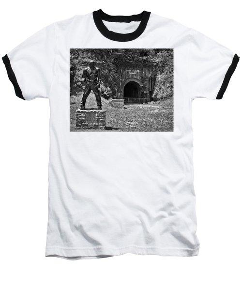 John Henry - Steel Driving Man Baseball T-Shirt