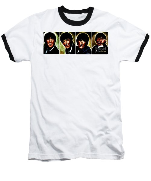 John, Paul, George And Ringo Baseball T-Shirt