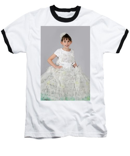 Josette In Dryer Sheet Dress Baseball T-Shirt
