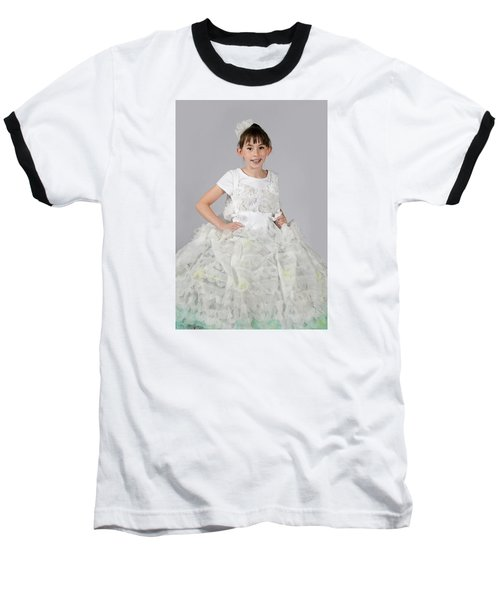Josette In Dryer Sheet Dress Baseball T-Shirt
