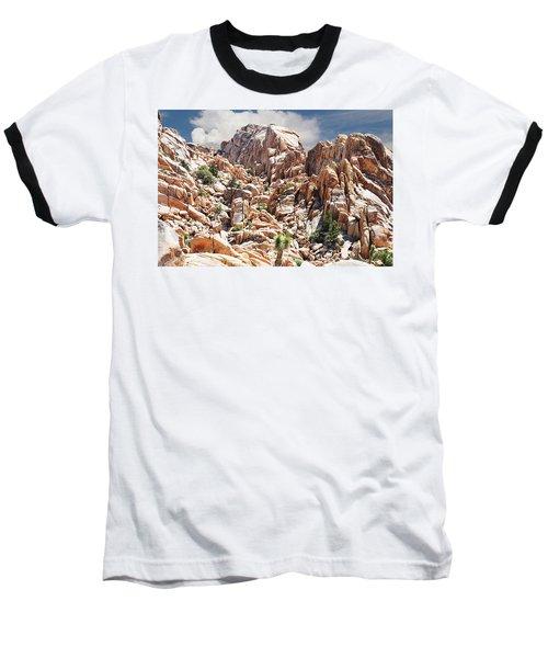 Joshua Tree National Park - Natural Monument Baseball T-Shirt