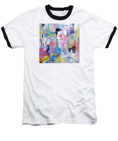 Baseball T-Shirt featuring the painting Journal by Katie Black