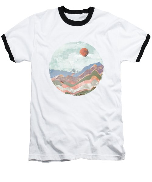 Journey To The Clouds Baseball T-Shirt by Katherine Smit