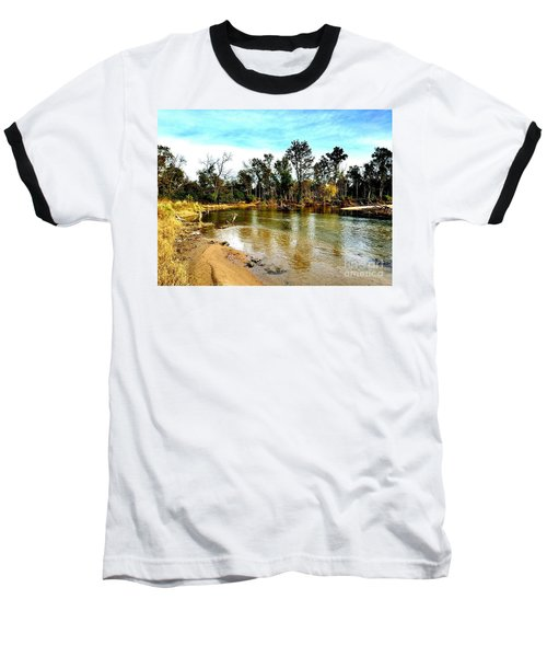Journey To The Rivers Bend Baseball T-Shirt