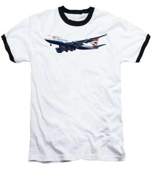 Jumbo Jet Baseball T-Shirt by Roger Lighterness