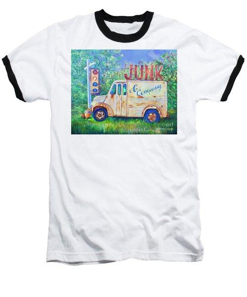 Junk Truck Baseball T-Shirt