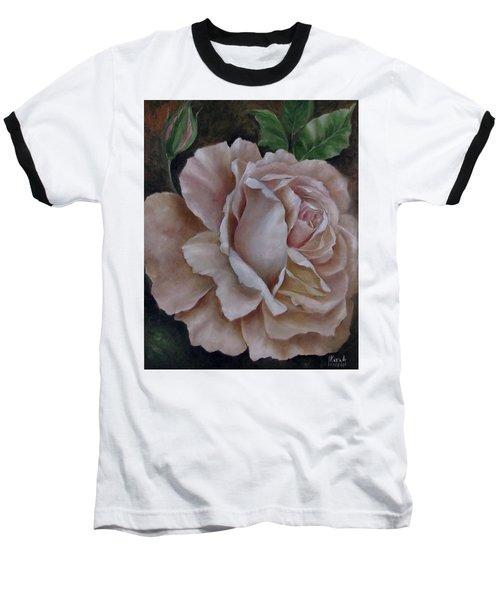 Just A Rose Baseball T-Shirt by Katia Aho